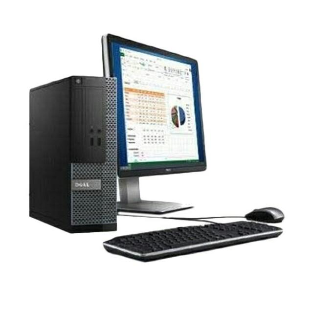 Dell Optiplex 3020 i5-4Th Gen Pc Set