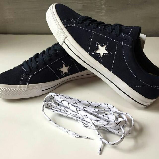 dijual sepatu CONVERSE model type   157874C ONE STAR PRO OX  obsidian obsidian white 8E-1705-B32 NZZN3NRF00049 f057b03e16