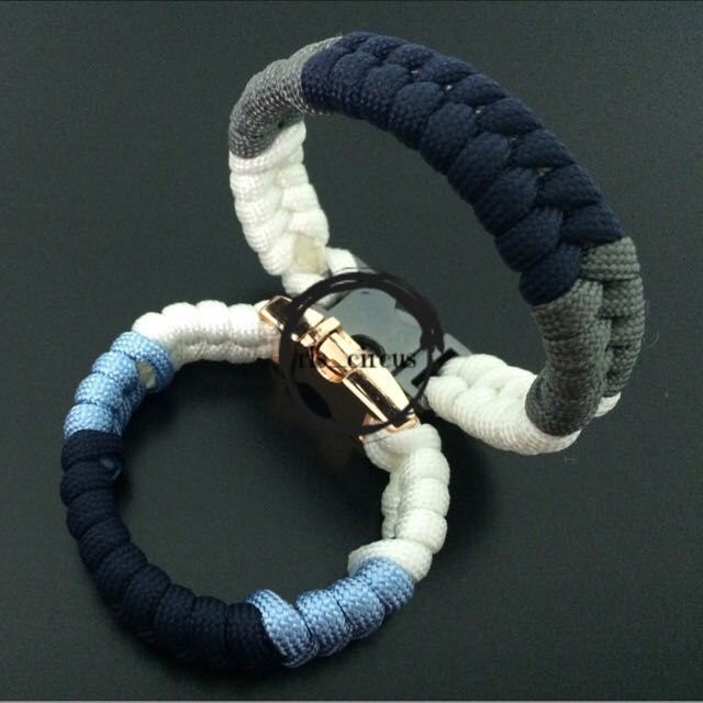 DIY Handmade Couple Paracord Bracelet, Men's Fashion
