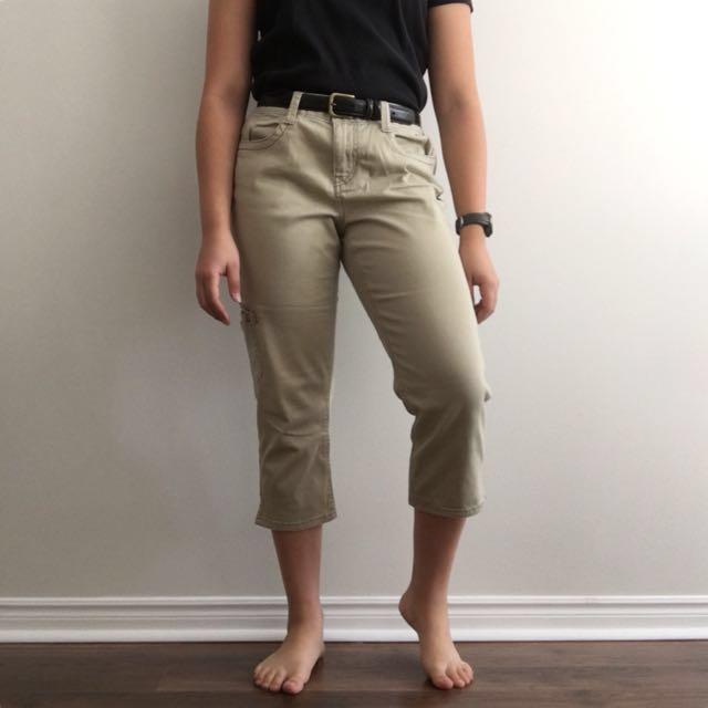 DKNY Cropped Jeans