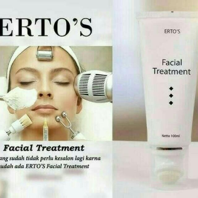 Erto's Facial Treatment Original {NEGO}