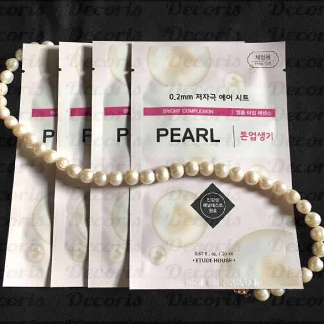 Etude House 0.2 Therapy Pearl Mask