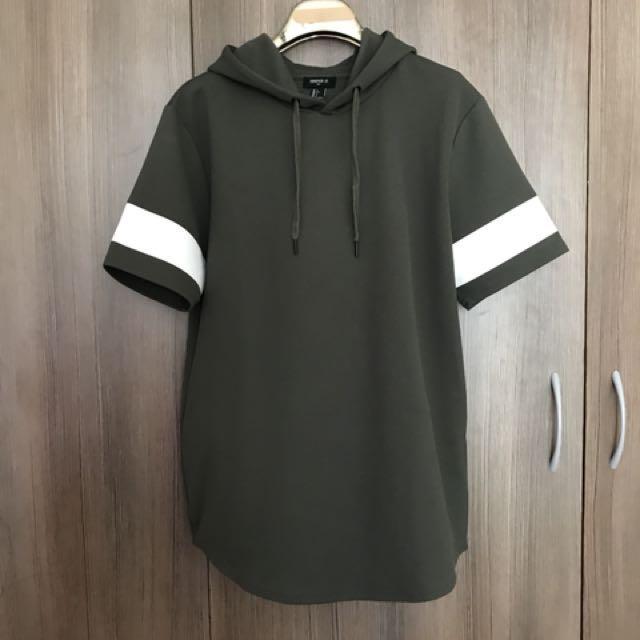 F21 Army Green Hoodie Tshirt