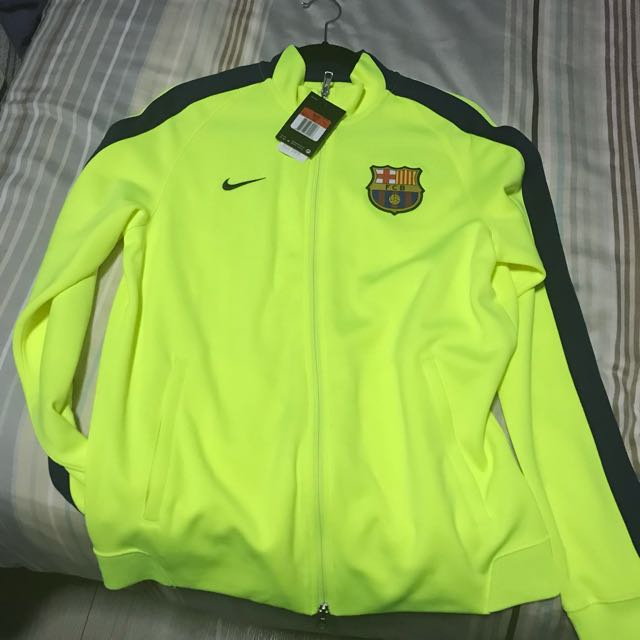 FC Barcelona N98 Jacket Yellow 14 15 L 53f21a084