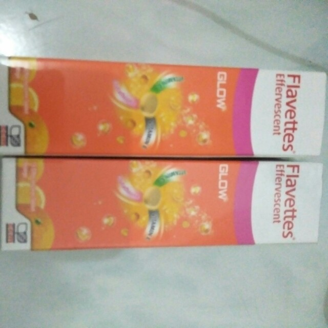 Flavettes Glow vitamin c,vitamin e & glutathione