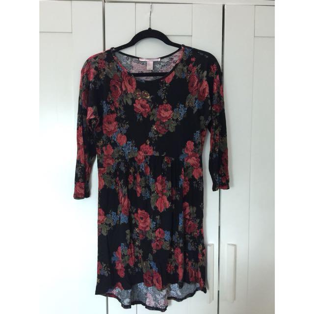 Forever21 floral short dress
