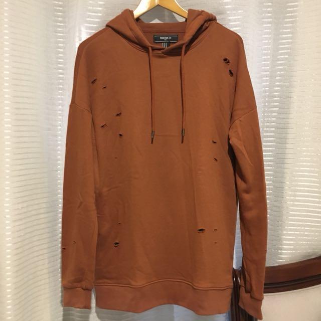 Forever 21 Orange hoodie
