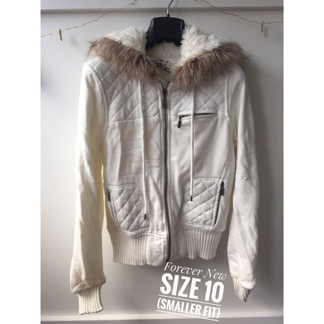Forever New Winter Jacket (size 10)