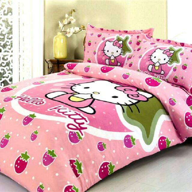 Free Postage Cadar Patchwork Hello Kitty Home Furniture Others On Carou