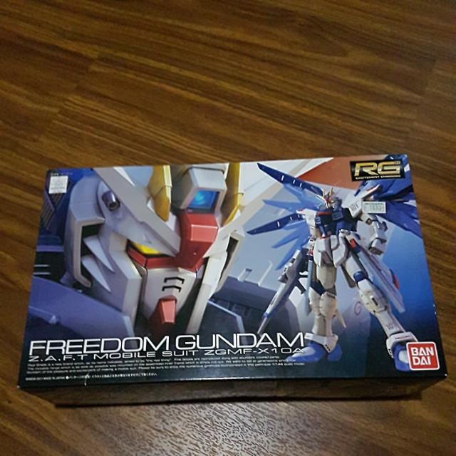 Bandai Freedom Gundam RG