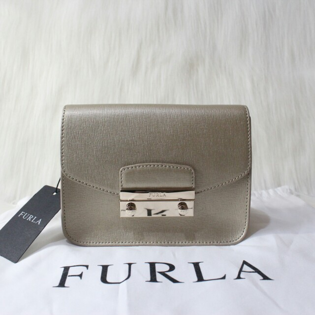 Furla mini julia gold