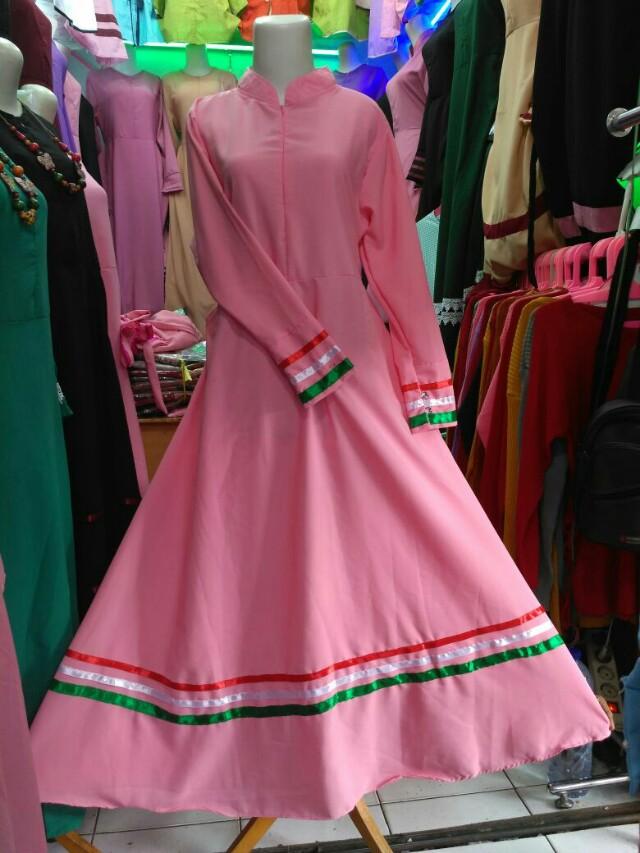 Gamis Palestina Olshop Fashion Olshop Muslim Di Carousell