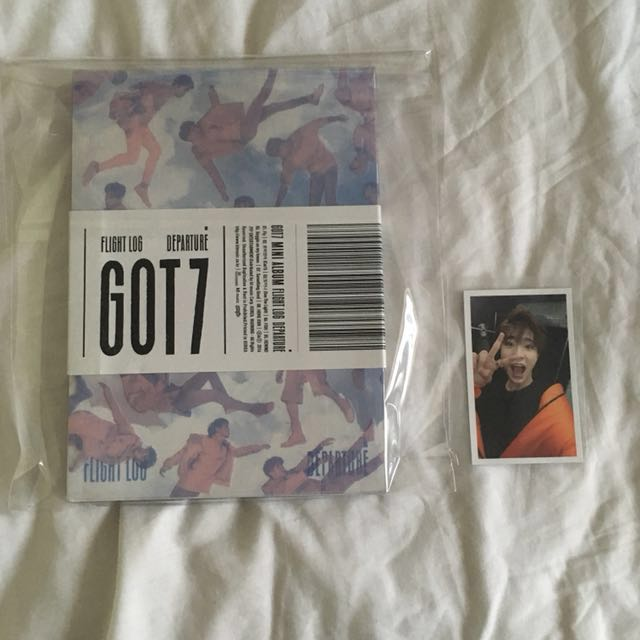 Got7 Flight Log: Departure Album Youngjae (Serenity Vers)