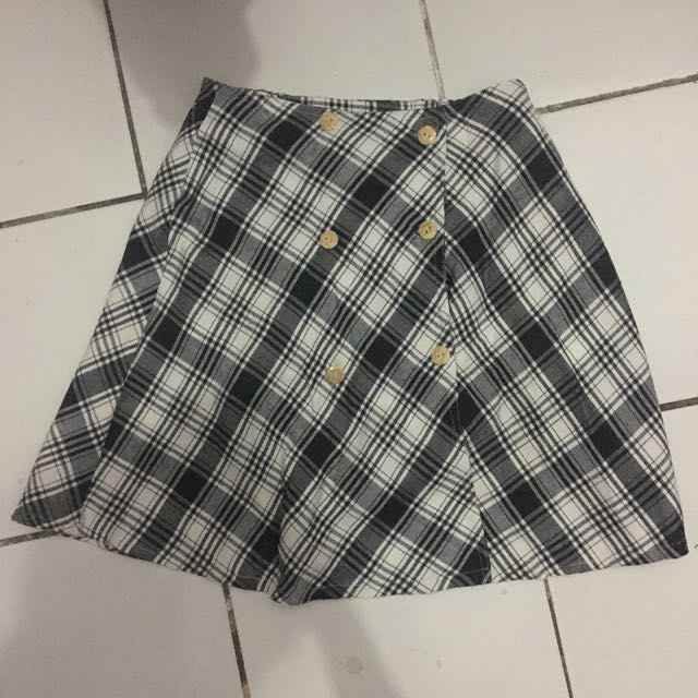 Grey skirt 80's