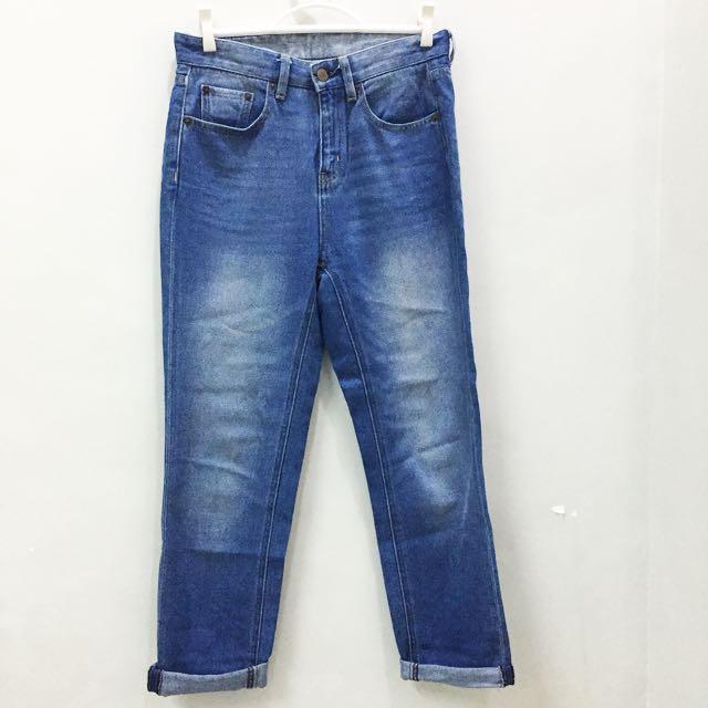 GU Mom Jeans