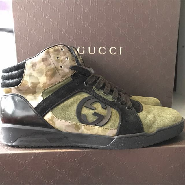167b718ccb5 Gucci Japan Exclusive High Cut Sneakers