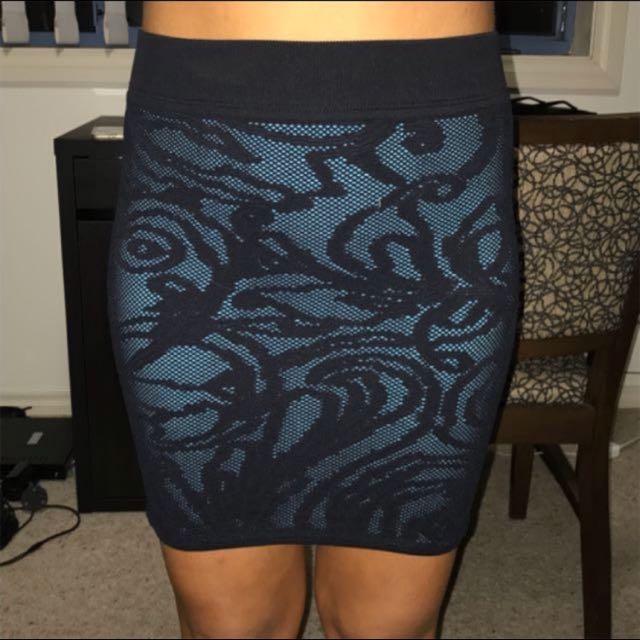 Guess Mesh Lace Dress