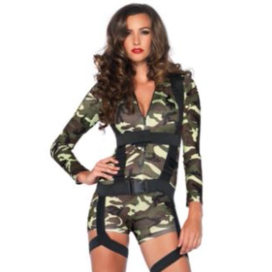 Halloween Army Costume