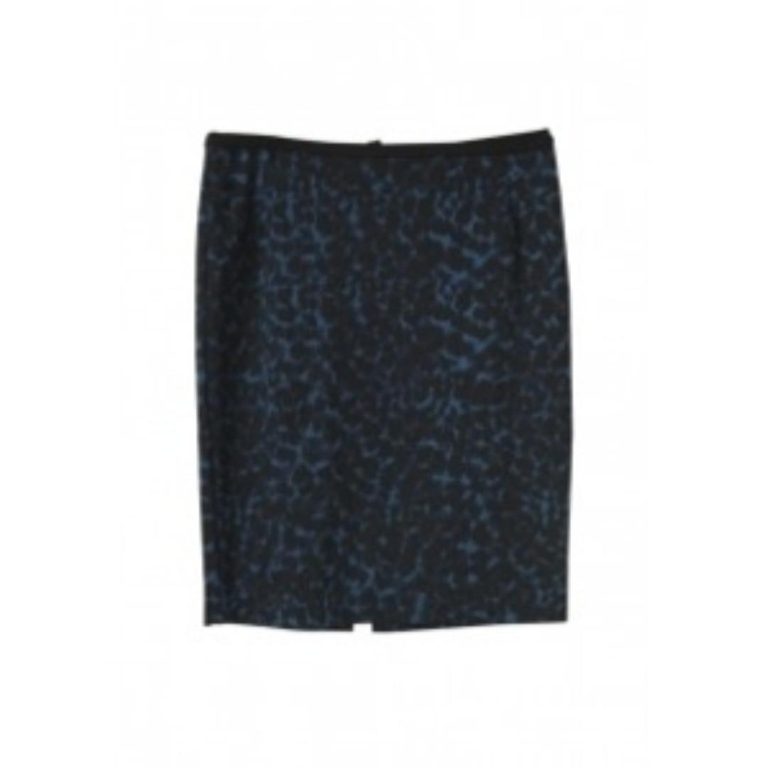 H&M Black And Blue Skirt