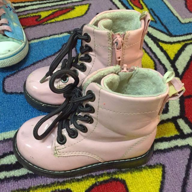 H&M kids girls boots