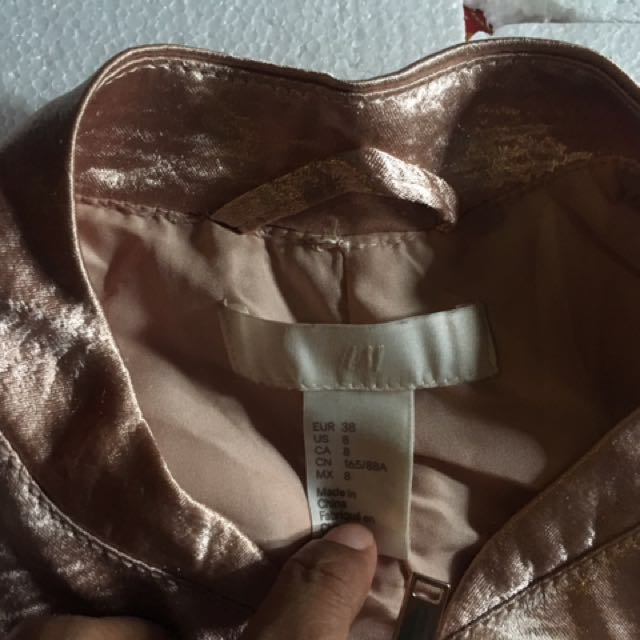 H&M Metallic Jacket
