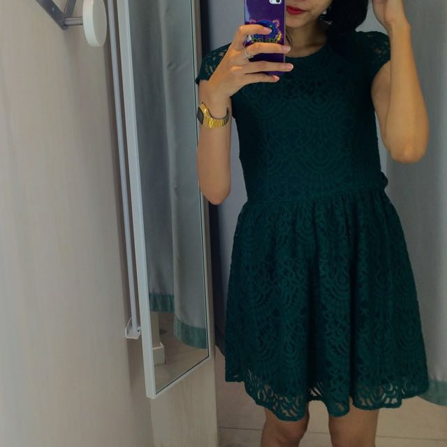 HnM Brokat Dress