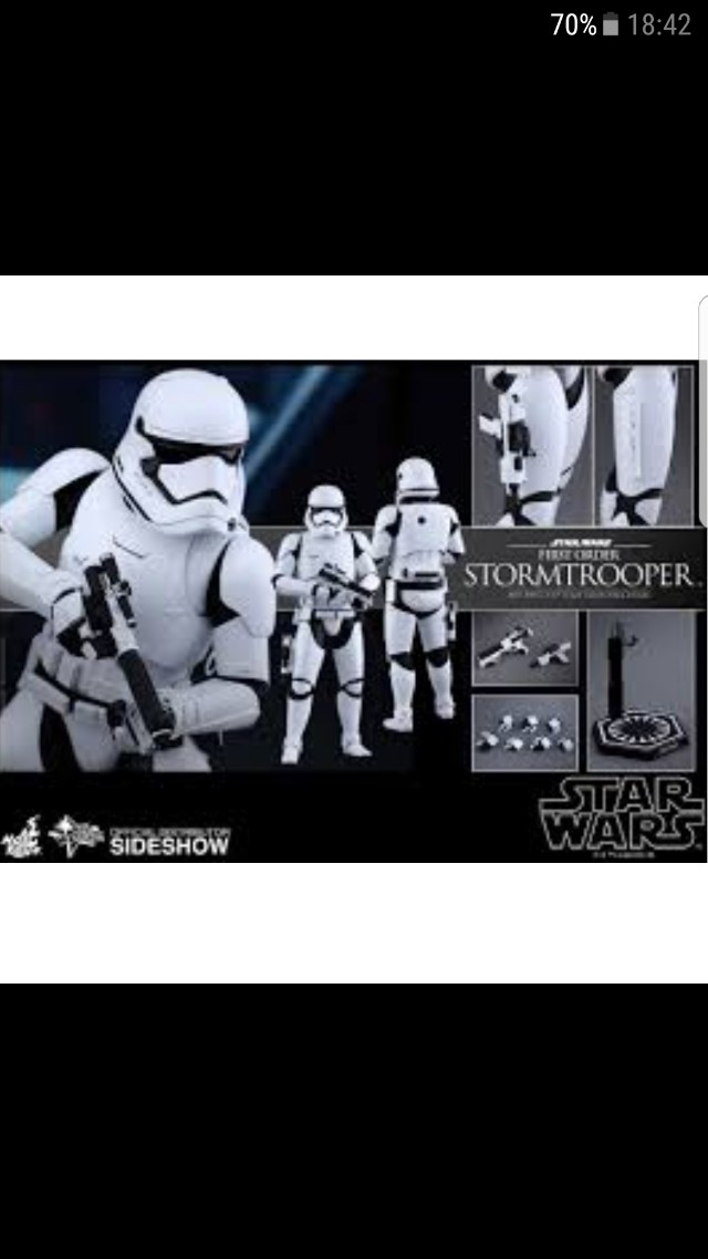 Hot Toys MMS317 First Order Stormtrooper
