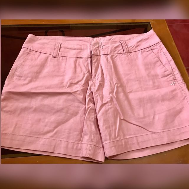 Hurley Pink Cotton Walking Short (Can Fit Waistline Size 31-33)