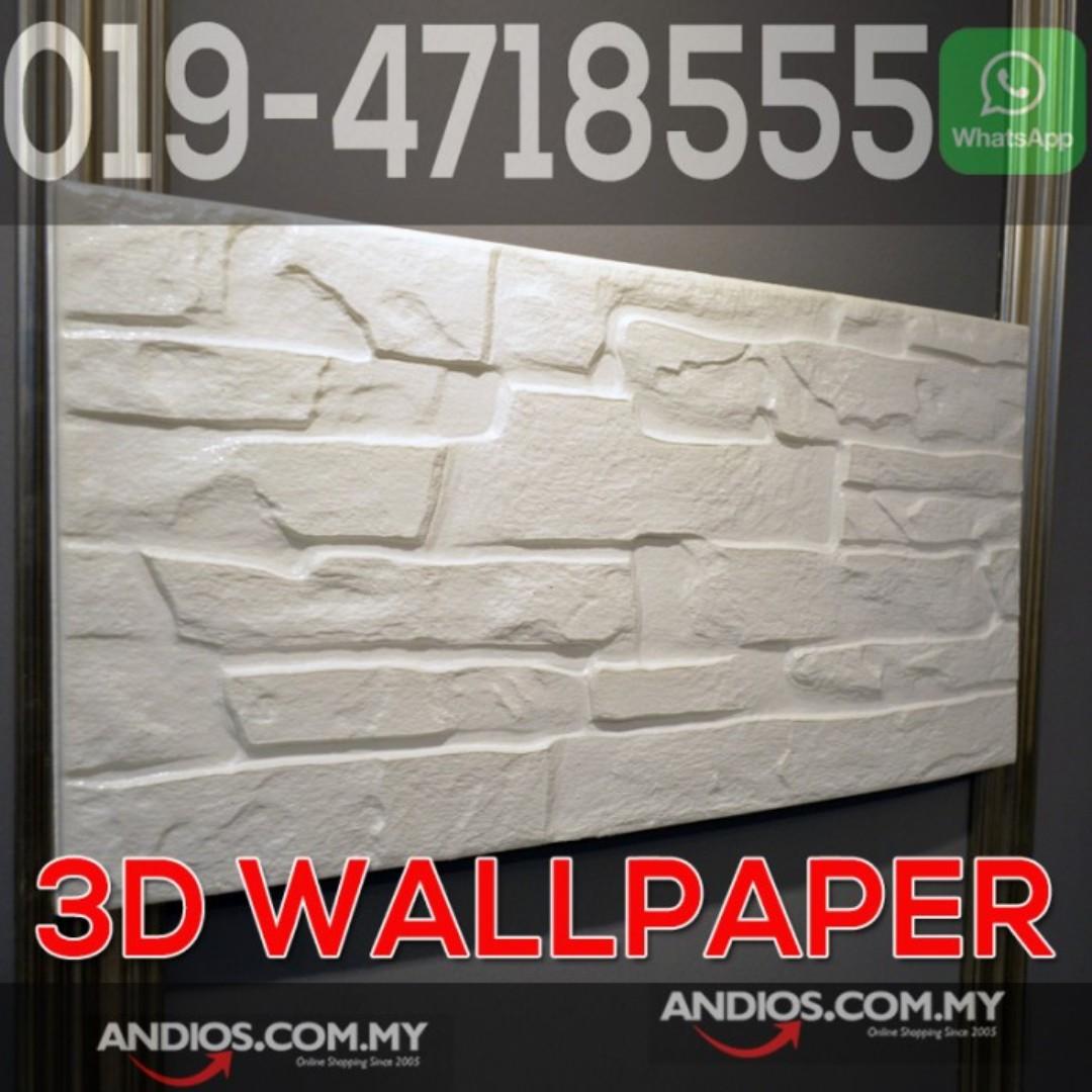 In Stock✓3D Wallpaper Brick Foam DIY Home Decor Self