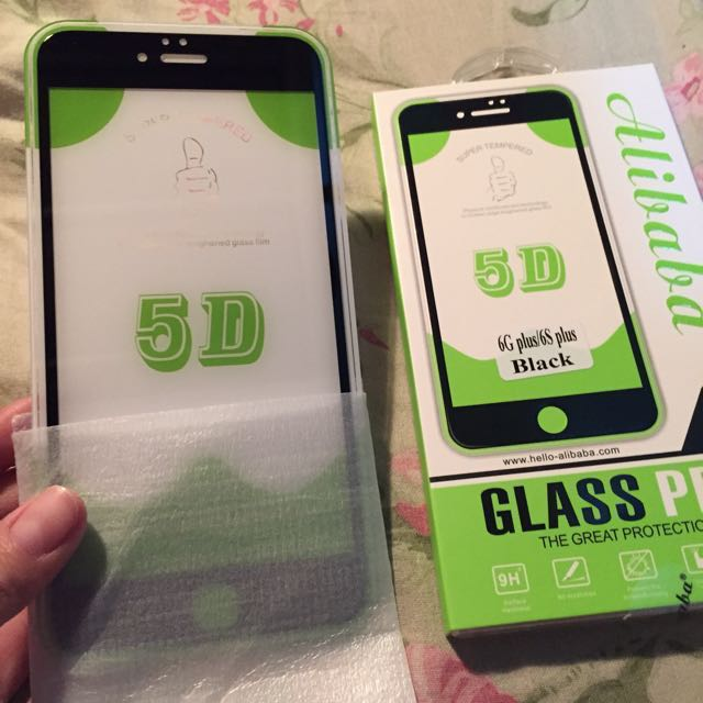 iphone 6/6s plus 5D tempered glass