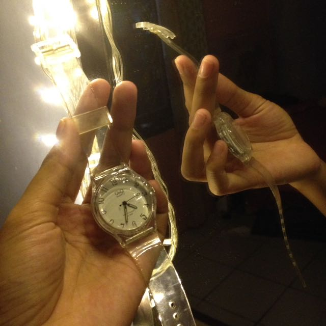 Jam tangan Q&Q watch waterresistant