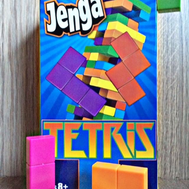 Jenga Tetris Toys Games Board Games Cards On Carousell