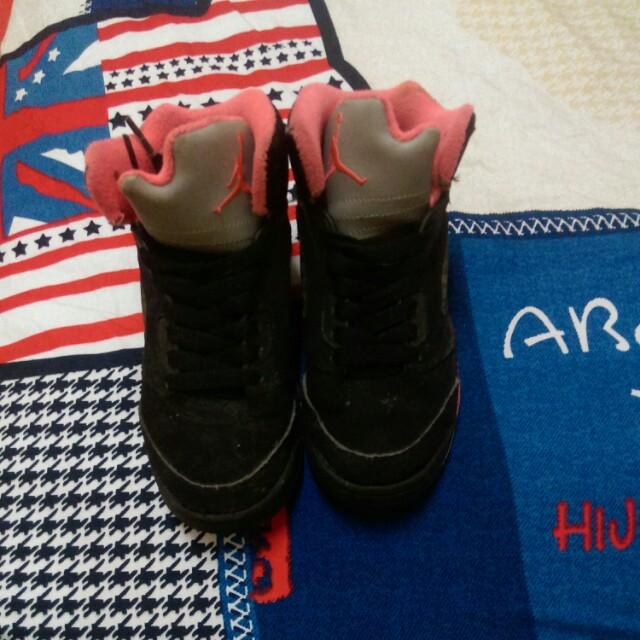Jordan 女藍球鞋
