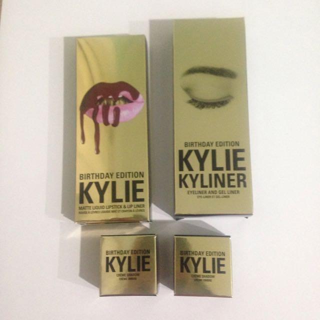 Kylie Cosmetics Birthday Edition