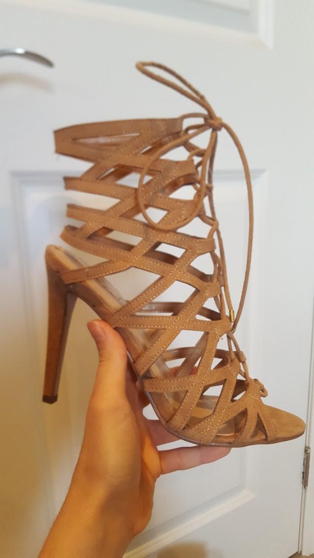 Lace up Heels - Aldo