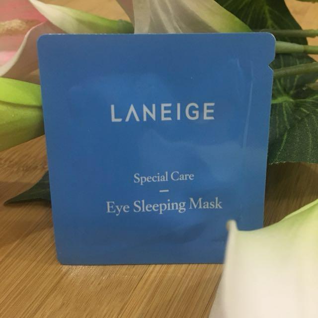 Laneige Special Care Eye Sleeping Mask 1ml