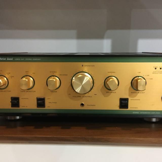 Leben CS 600 valve amp for sale