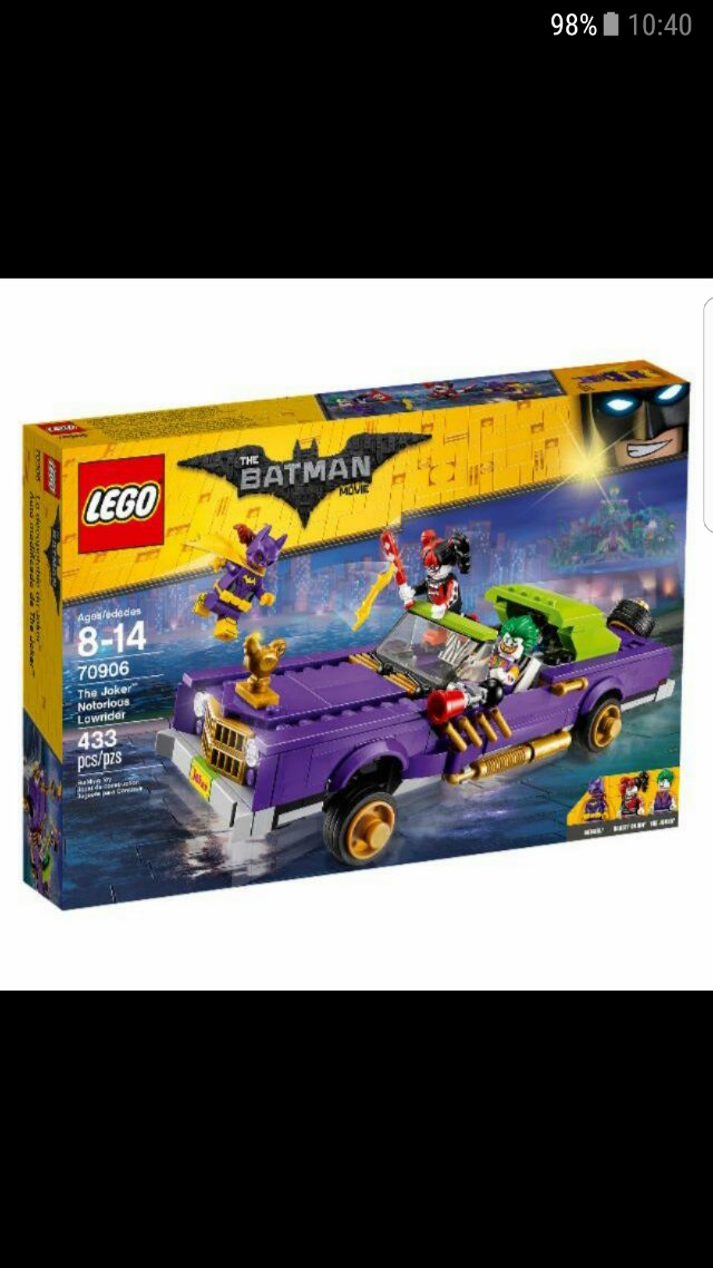 LEGO 70906 - Batman The Joker Notorious Lowrider