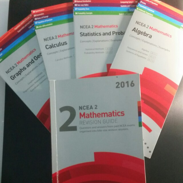 Ncea Level 2 maths studypass
