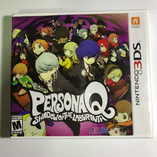 Like new Persona Q Nintendo 3ds 2ds game Free shipping!