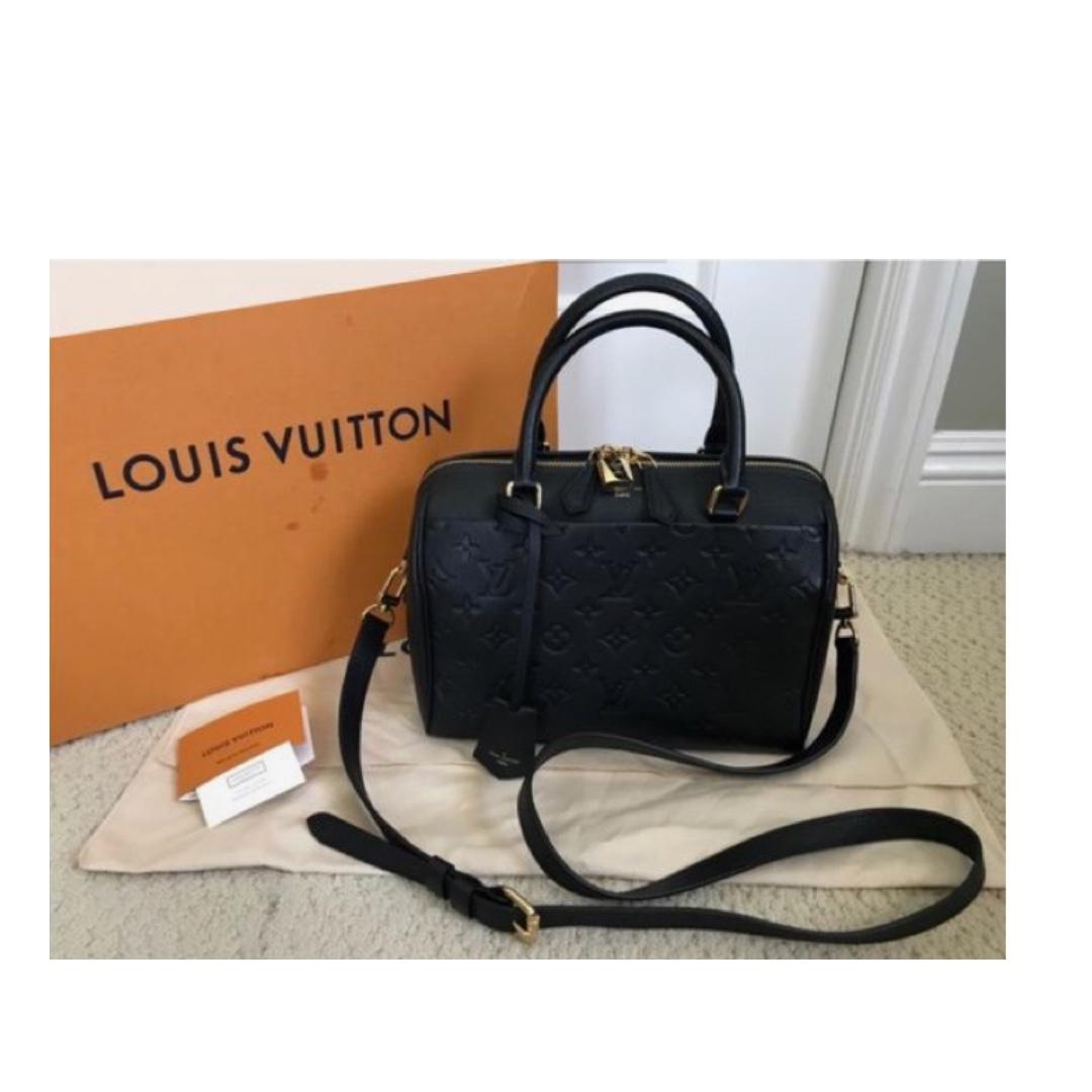 Louis Vuitton Empreinte Speedy Bandouliere 25 Luxury Bags