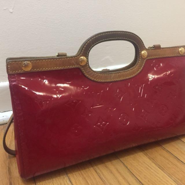 Louis Vuitton red bag
