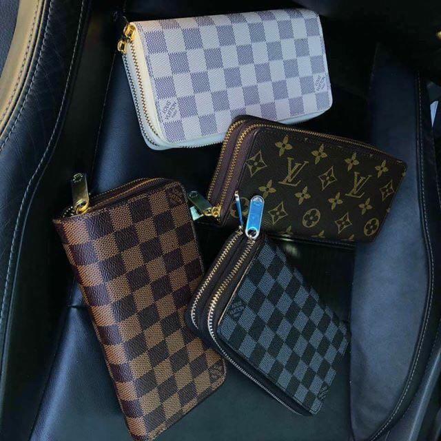 04d3f7f5eb5f Carousell의 LV authentic overrun double zipper wallet