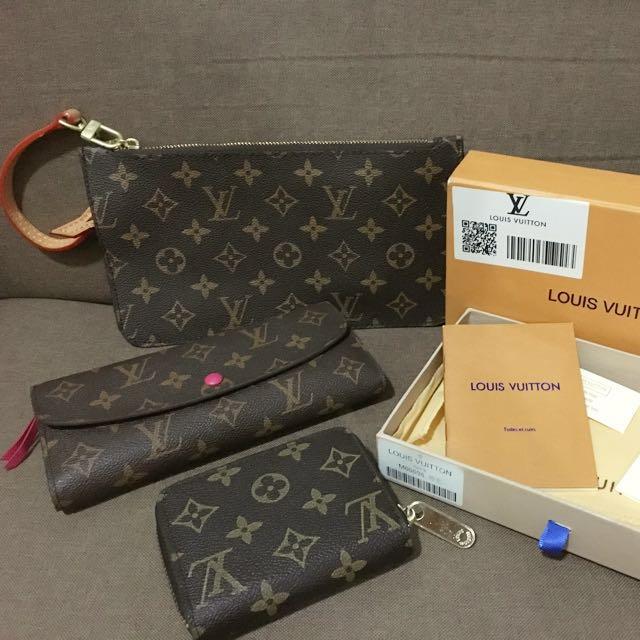 LV wallet Set
