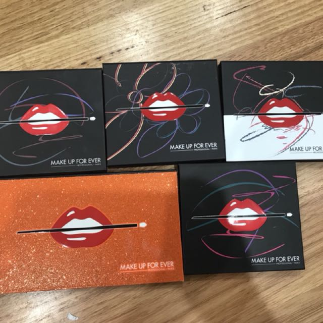 Make up for ever palettes (all 5)