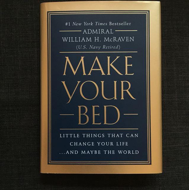 William mcraven make your bed