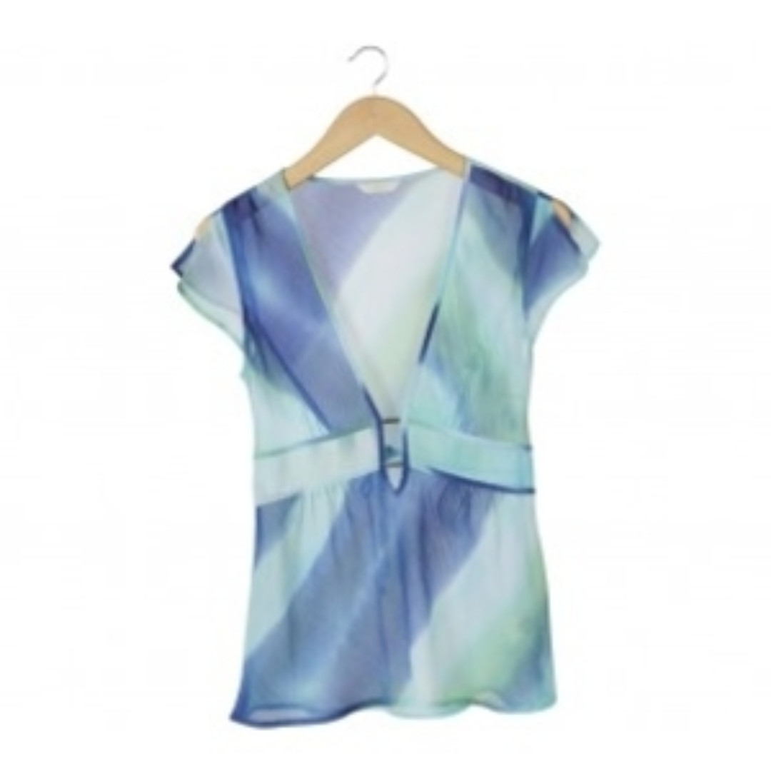 Marks & Spencer Multi Colour Patterned Blouse