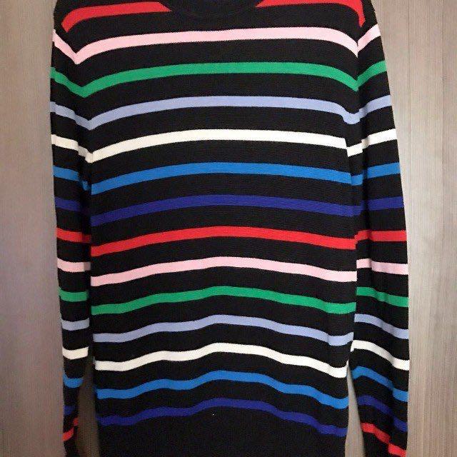 METERS/BONWE Stripe Sweater