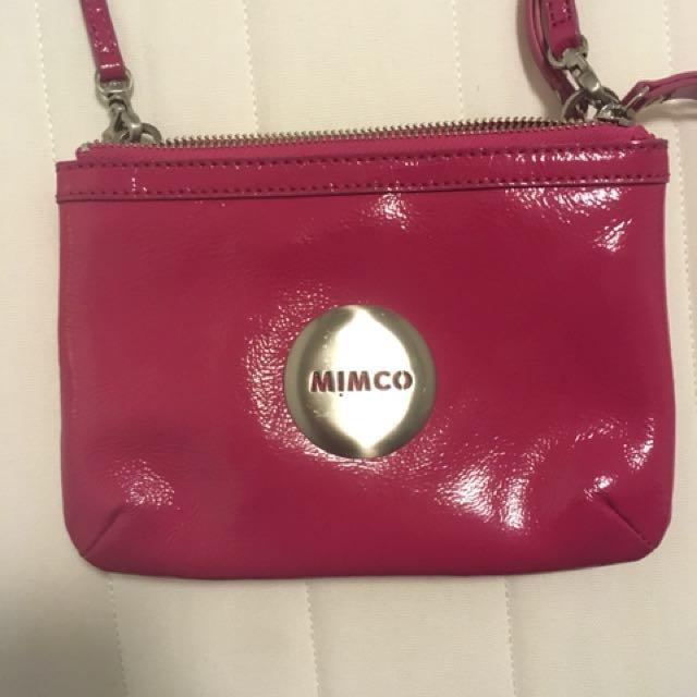 Mimco cross body bag