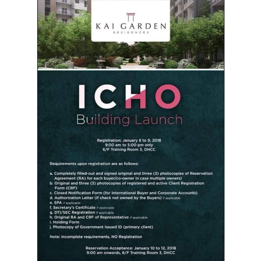 New Affordable Pre Selling Condo in Mandaluyong!! 2nd building Launching of Kai Garden!